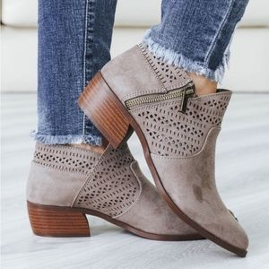 MUST HAVE booties - TAUPE
